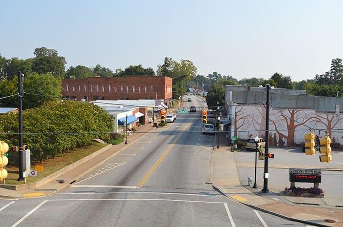 Town of Cowpens SC | downtown cowpens